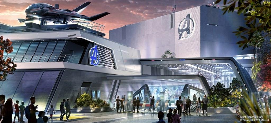 [Parc Walt Disney Studios] Avengers Campus (2021) > infos en page 1 - Page 4 Avenge10
