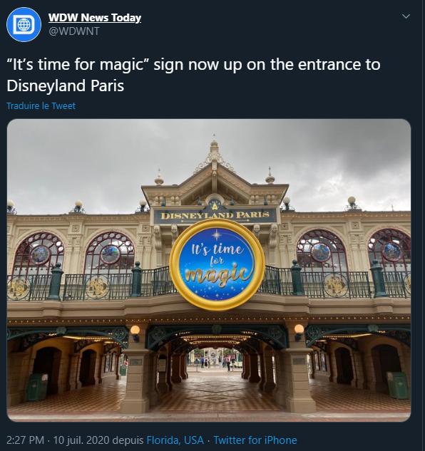 Disneyland Paris ouvert pendant la COVID-19 (juillet-octobre 2020)  Bruh10