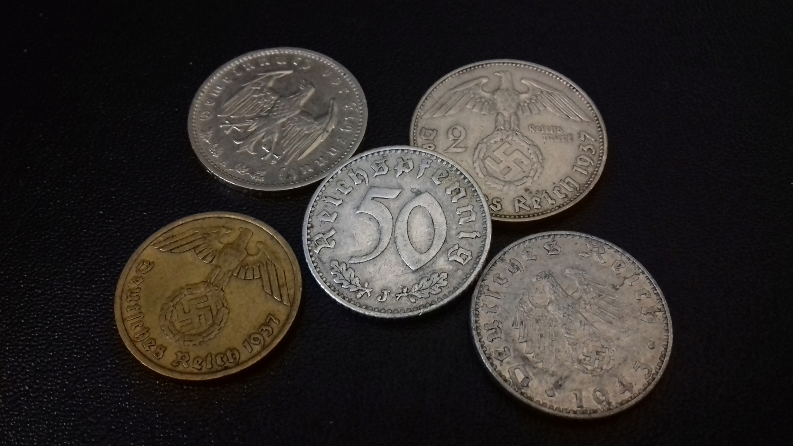 Collection numismatique de Scharfschütze 20190213