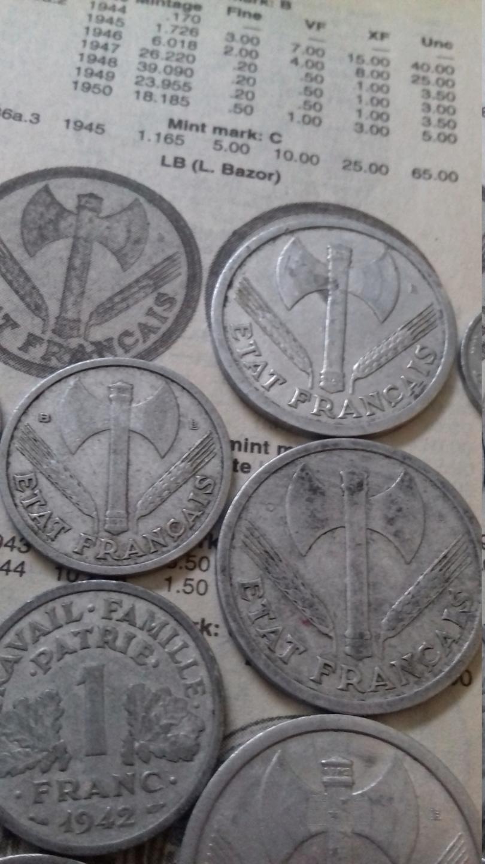 Collection numismatique de Scharfschütze 20190517
