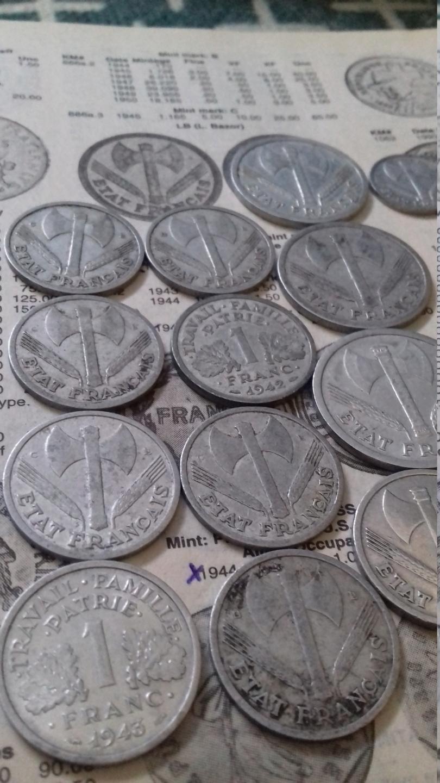 Collection numismatique de Scharfschütze 20190518