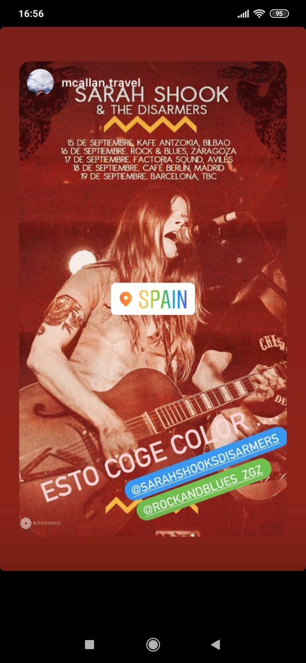 Sarah Shook & The Disarmers / Country crudo, actitud punk - Página 2 Screen19