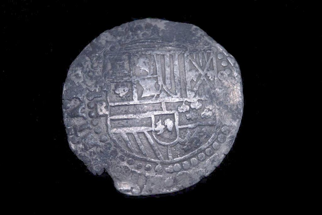 8 Reales (SF). Felipe II. Potosí (RL) 8-r-1510