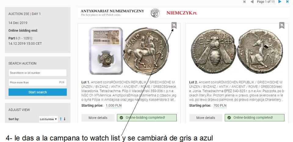 Cómo vigilar una moneda usando Sixbid dedicado a mreyna A410