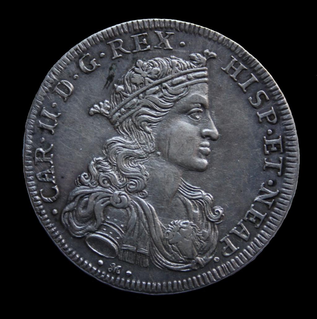 Ducado de Carlos II Nápoles Toisón de Oro Carlos10