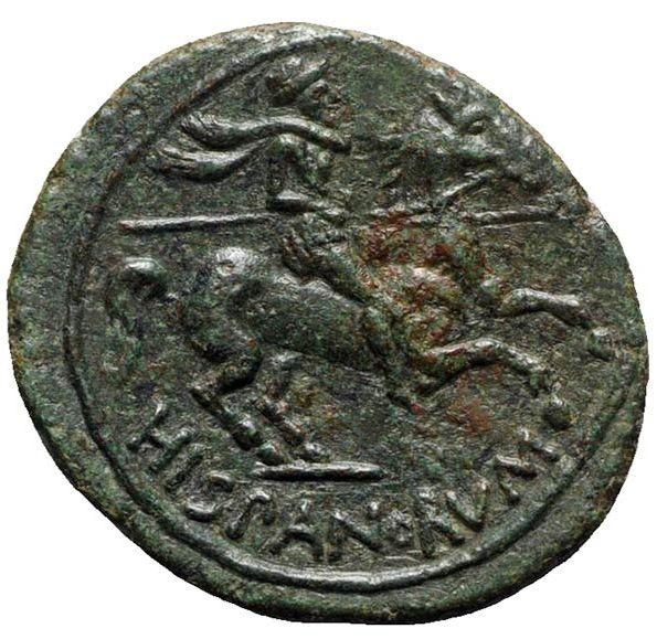 Morgantina, la primera moneda en la que aparece la alusión a Hispania Clipbo14