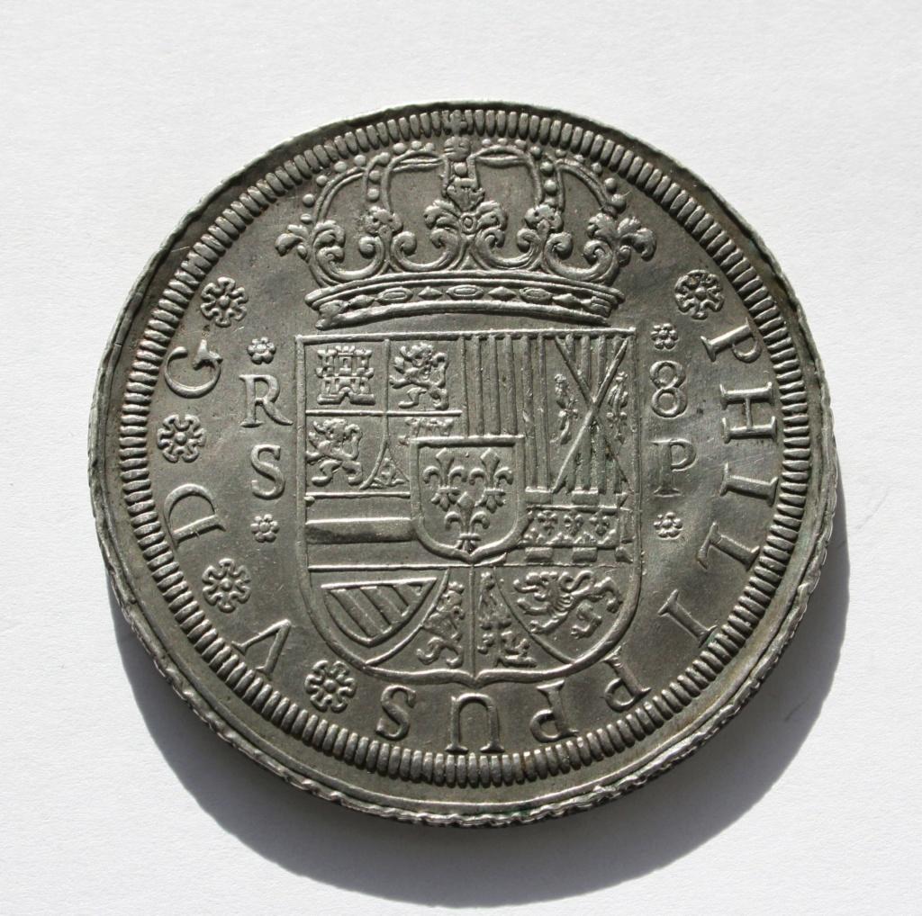 8 reales a rodillo de Felipe V Sevilla, 1728. Clipbo15