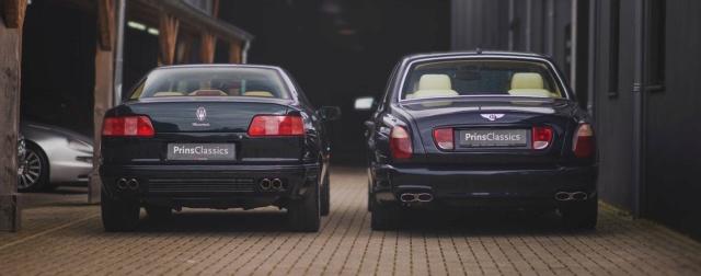 Maserati Quattroporte o Bentley Arnage  1847b410