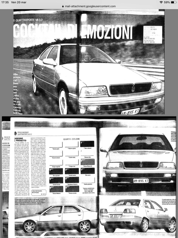 maserati quattroporte IV, DeTomaso o Fiat? - Pagina 3 46e29810