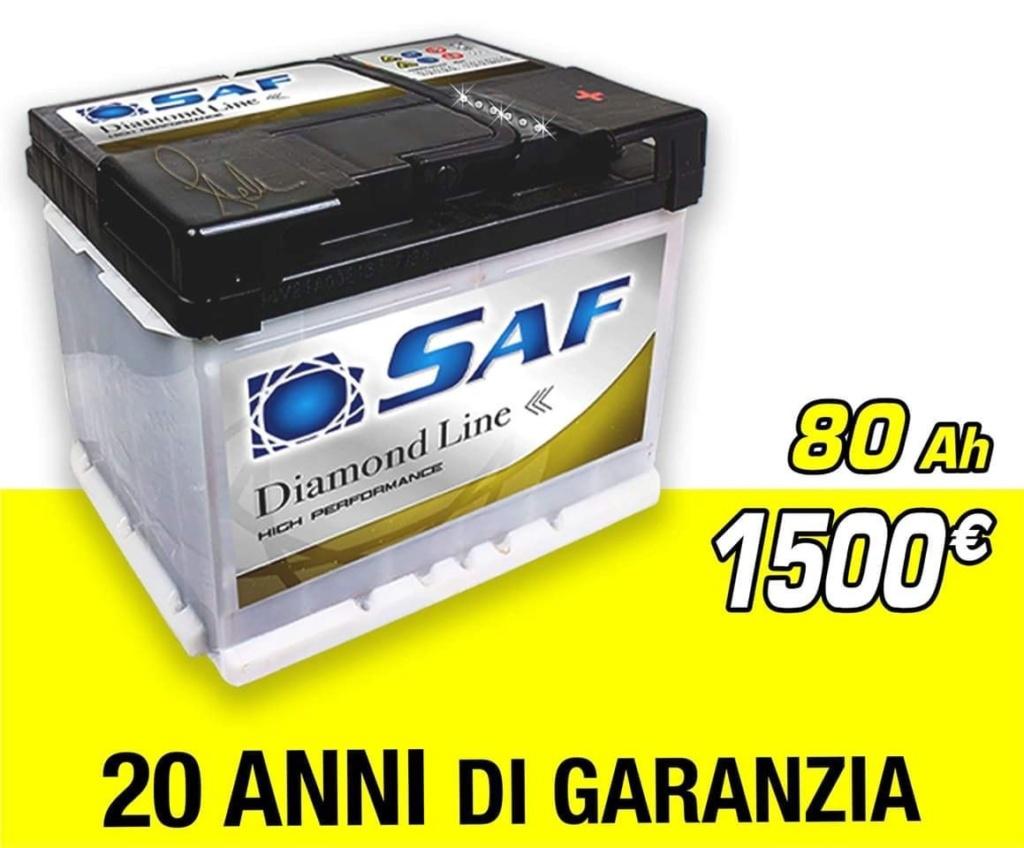 Batteria saf ... al prezzo di 1500€ 64add210