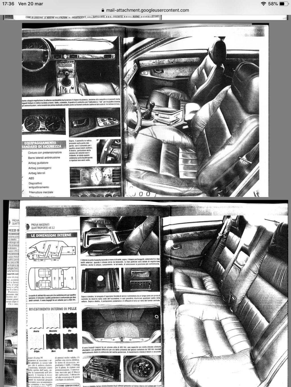 maserati quattroporte IV, DeTomaso o Fiat? - Pagina 3 72a6db10