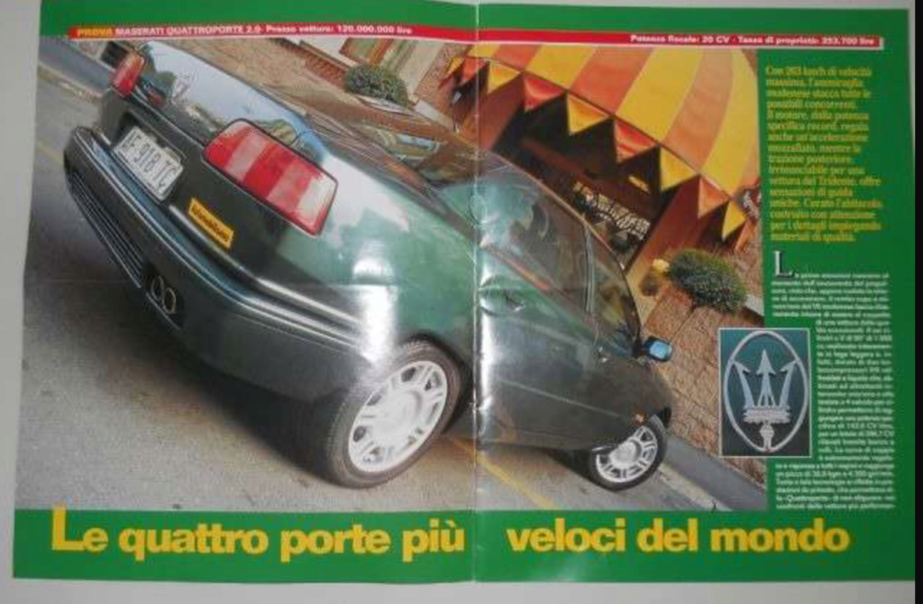 maserati quattroporte IV, DeTomaso o Fiat? 7869fb10