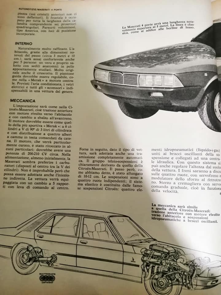 Quattroruote 08/1974 Bbeaf710