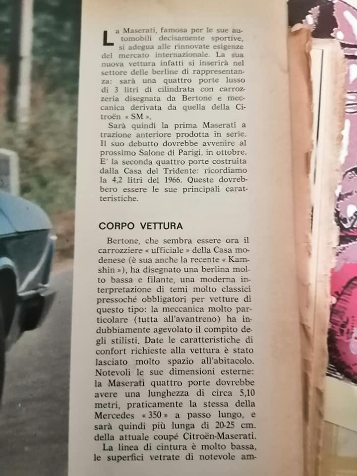 Quattroruote 08/1974 Cd3e0f10