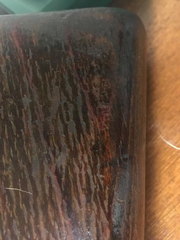 Huile de lin et bois de carabine  B548d910