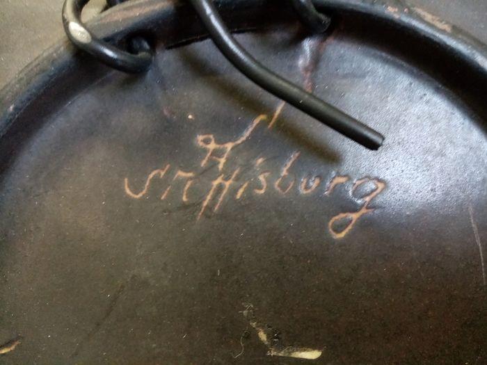 ceramic plate  -  Steffisburg Switzerland  1a5cf910