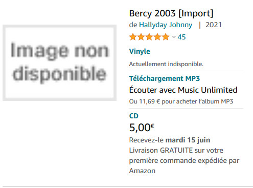 Bercy 2003 ( Import ) ? Bercy910