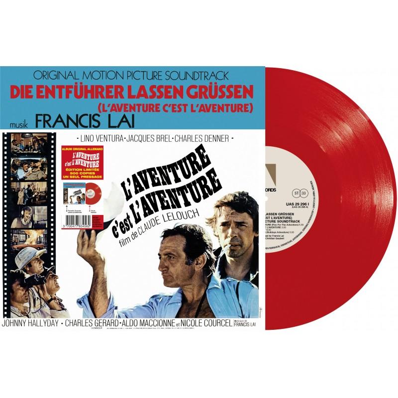 Sortie 26/11/2021 : L'aventure C'est L'aventure (Version Allemande) (Vinyle) Franci10