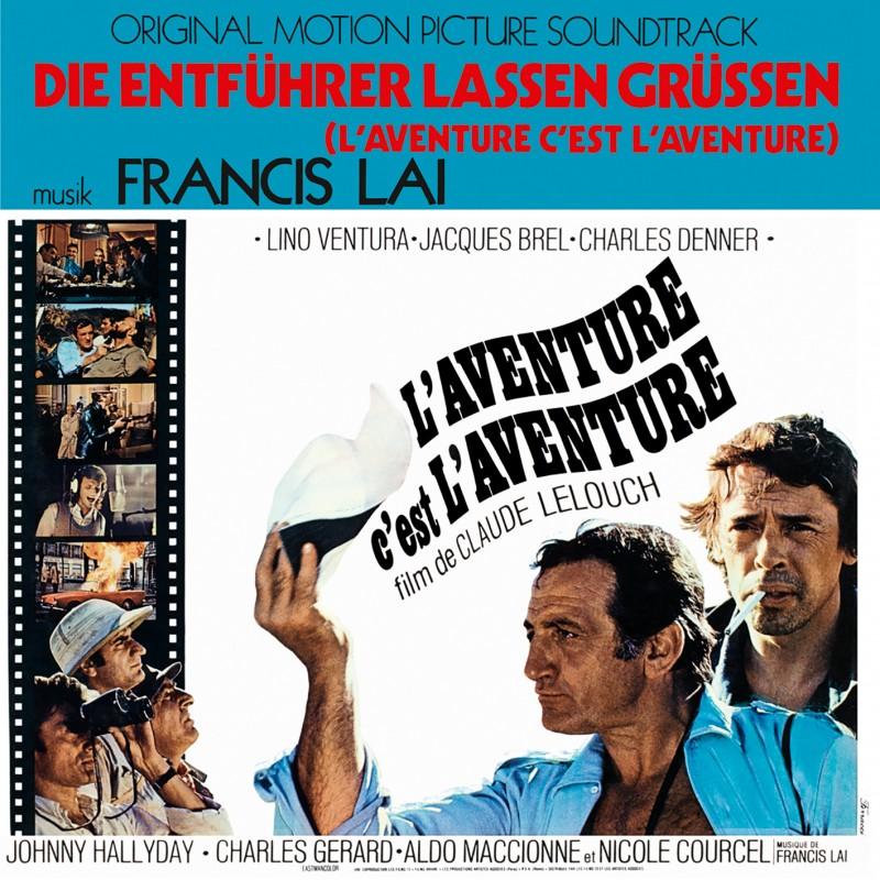 Sortie 26/11/2021 : L'aventure C'est L'aventure (Version Allemande) (Vinyle) Franci11