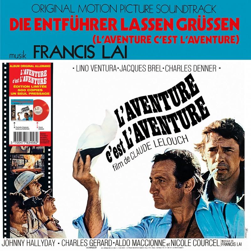 Sortie 26/11/2021 : L'aventure C'est L'aventure (Version Allemande) (Vinyle) Franci15