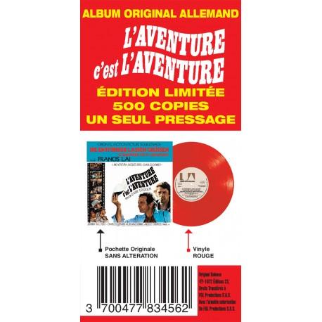 Sortie 26/11/2021 : L'aventure C'est L'aventure (Version Allemande) (Vinyle) Franci16