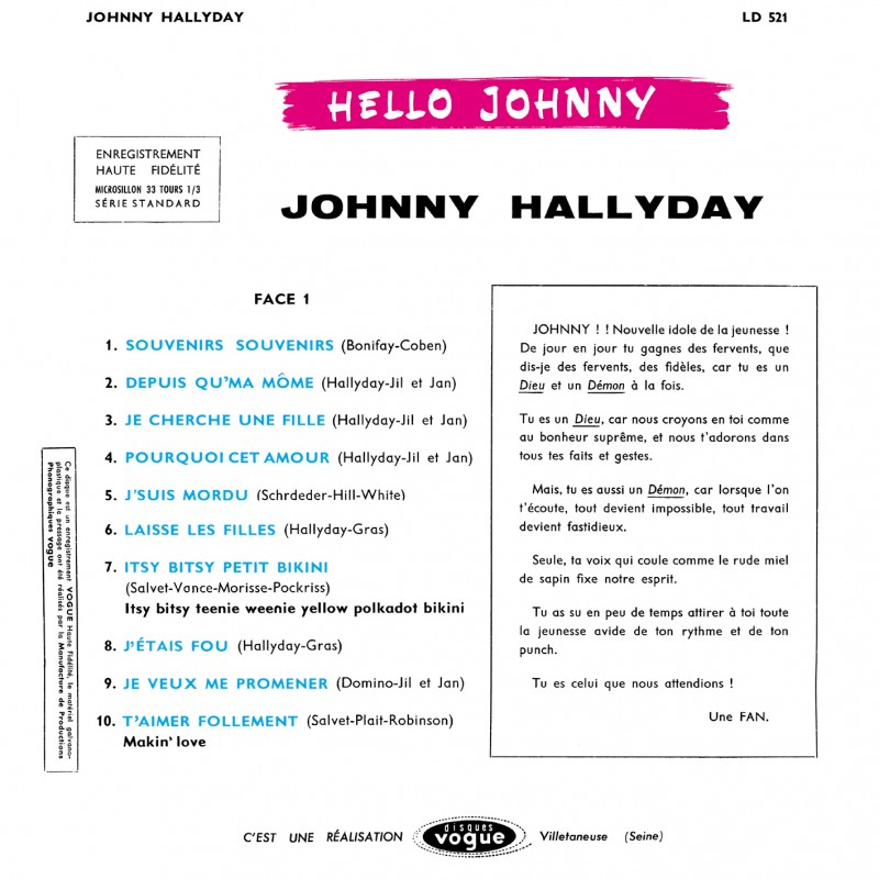 Disquaire day le 13 Avril 2019 Johnny22