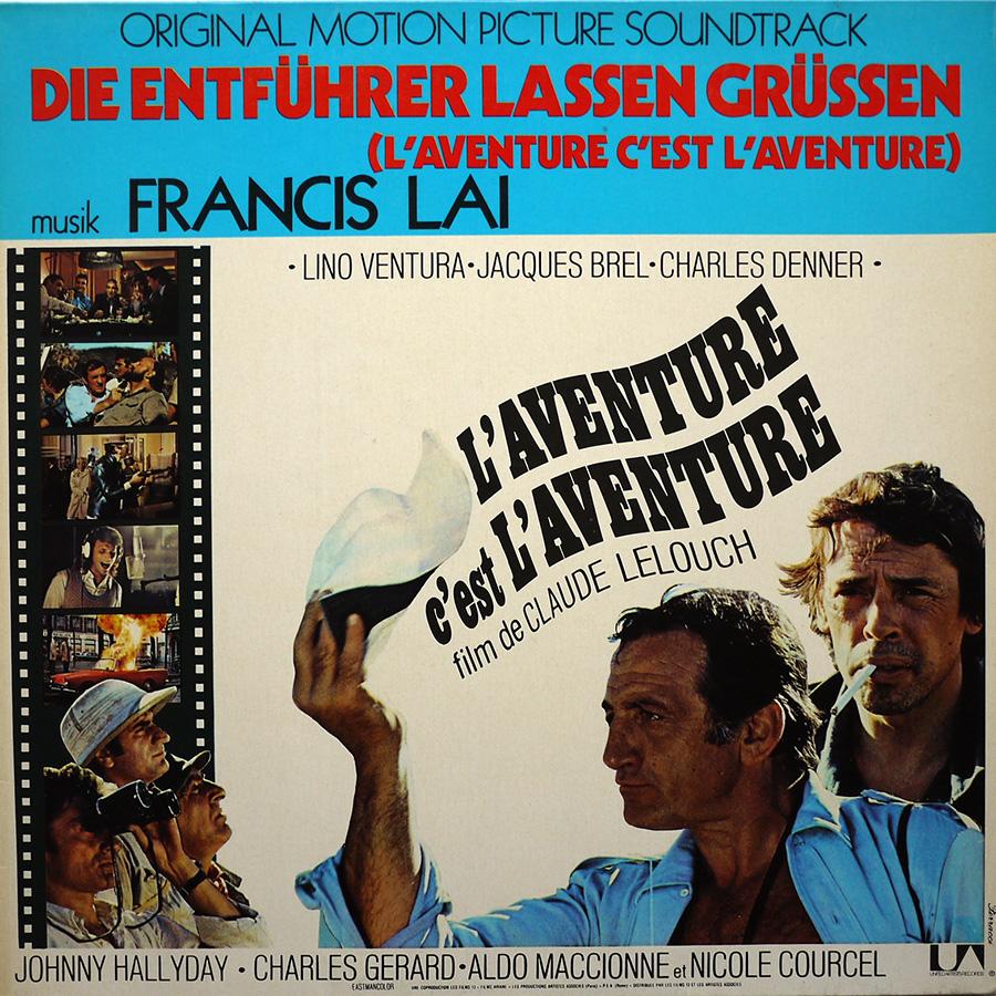 L'AVENTURE C'EST L'AVENTURE ( SP - LP )( TOUTES LES EDITIONS )( 1972-2018 ) P1560011