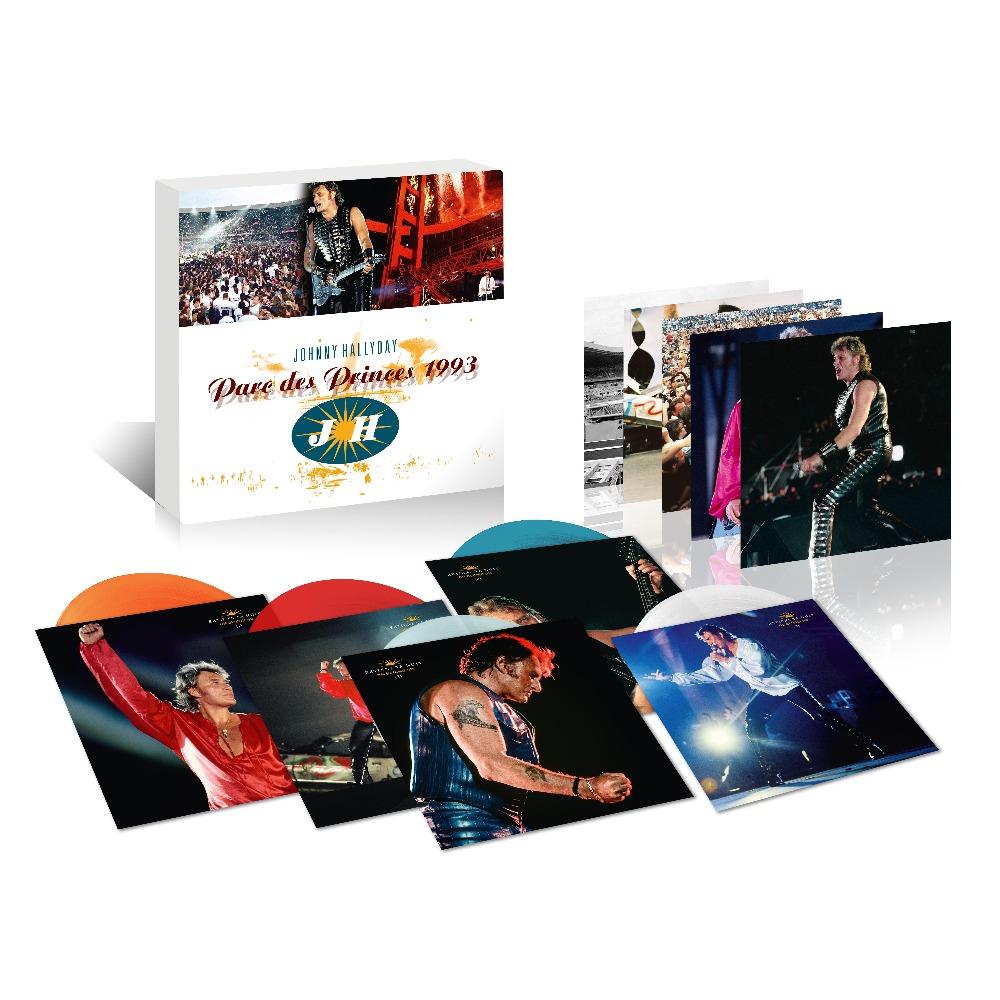 Pack | 5 LPs Couleurs Johnny Hallyday Parc 93 Parc110