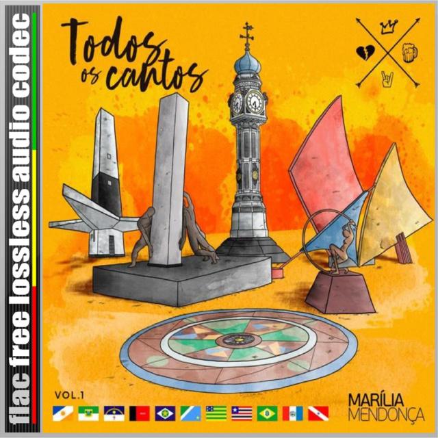 CD (FLAC) MARÍLIA MENDONÇA - TODOS OS CANTOS. (2019) Cd_fla11
