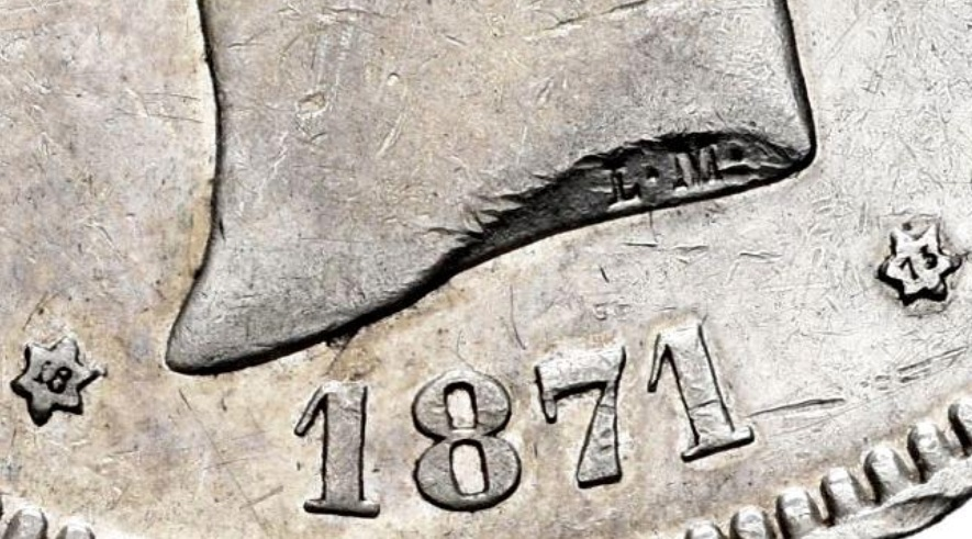 DUDA 5 pesetas Amadeo I 1871*18-73 Amadeo12