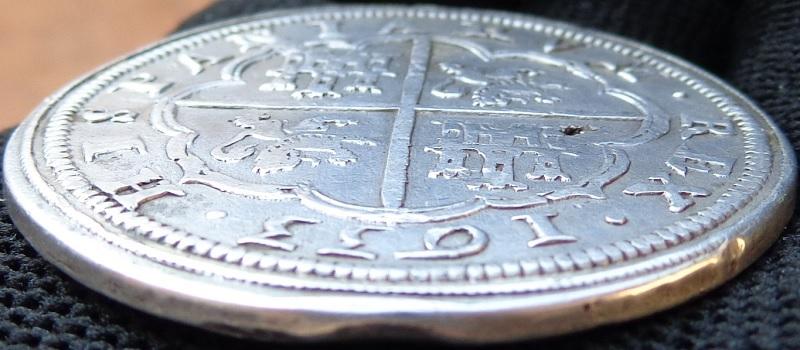 8 reales, Felipe IV real Ingenio de Segovia 1633 Felipe11