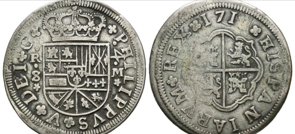 8 reales de Felipe V 1718, Sevilla Sin_8_10