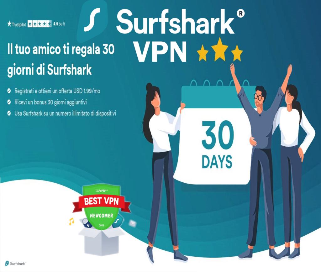 Promozione SurfShark