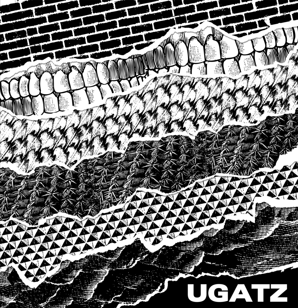 Ugatz - Ugatz (2019) At The Drive In + 713avo Amor (Desastre) + Shellac + Melvins Cover10