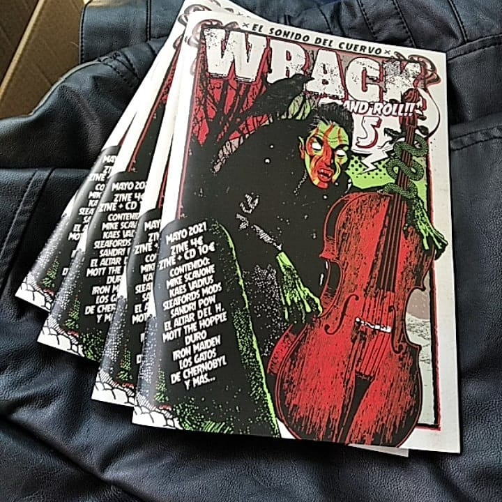Wrack & Roll - fanzine - nuevo número [Sandri Pow, Iron Maiden, Altar del Holocausto] Whatsa13