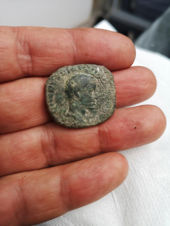 Sestercio de Herennio Etrusco. PIETAS AVGG /S C. Mercurio  16325811