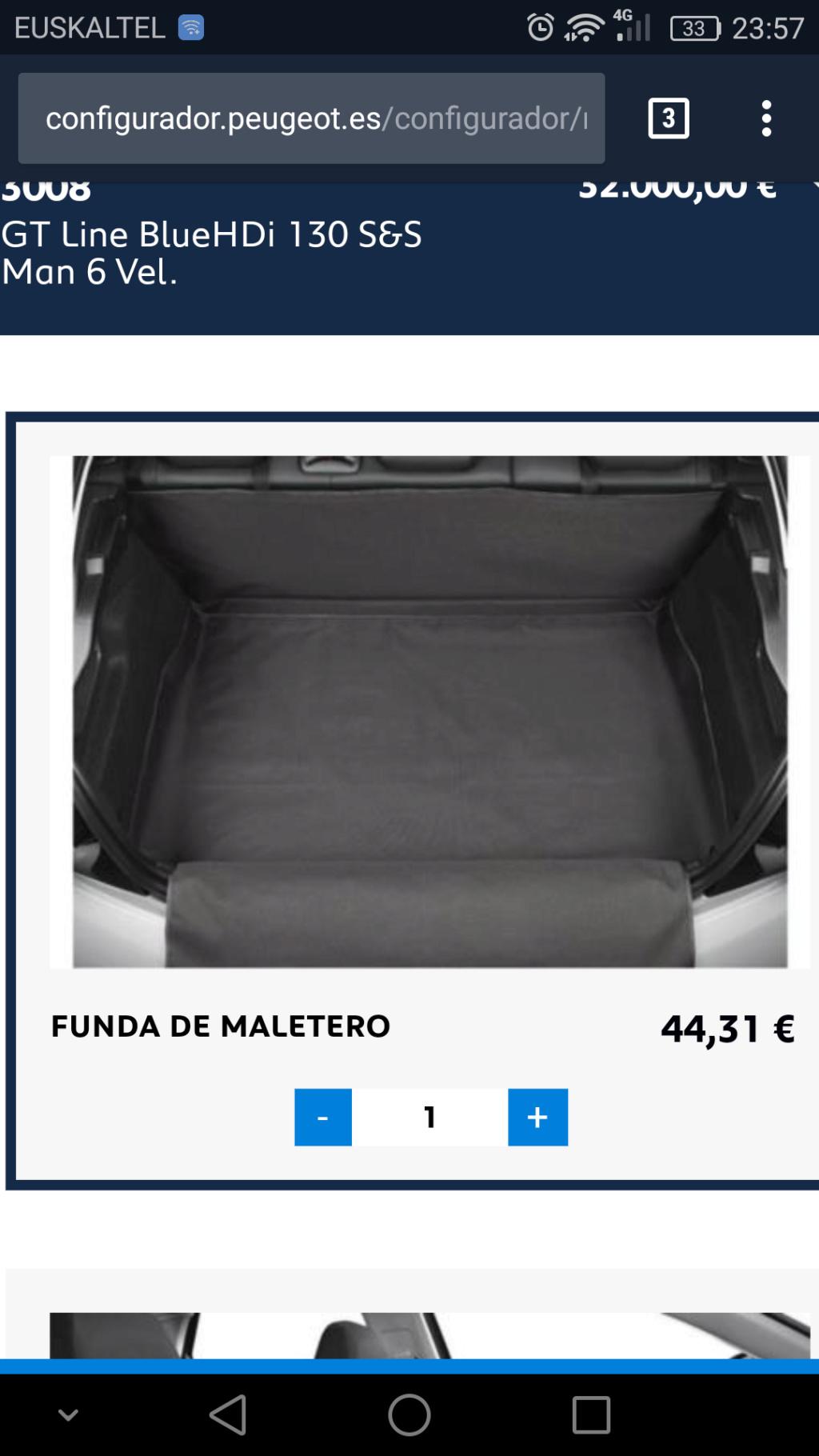 Funda protectora plastico maletero Screen14