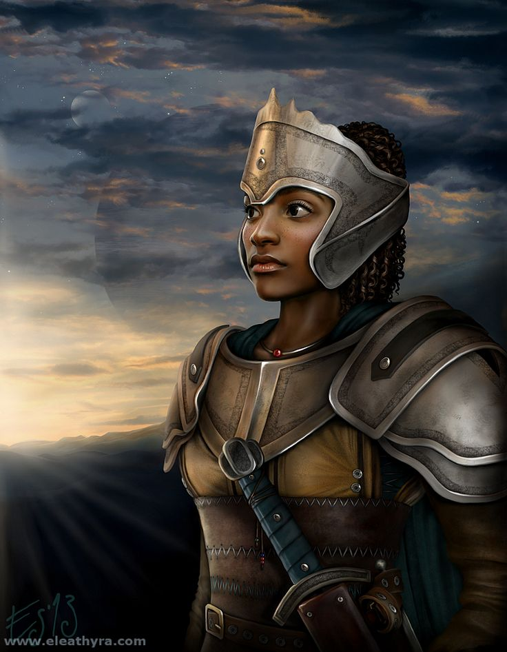 Dolores Imokina (Paladin and Vice-Captain) Dolore10