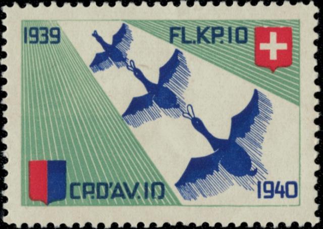 CP.D'AV. 10 /Fl. Kp. 10 Fliege10