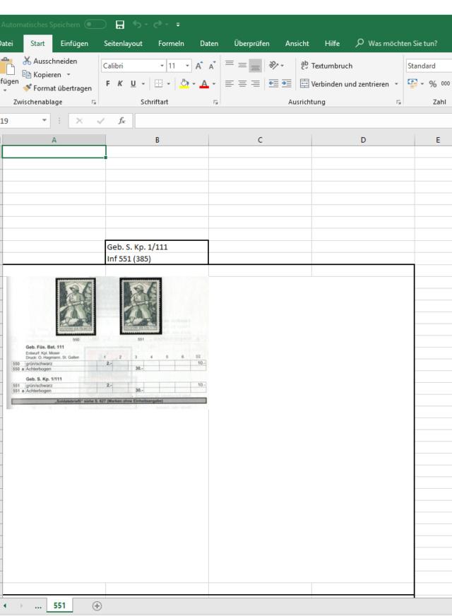 Organisation eurer Sammlung(en) Unbena11