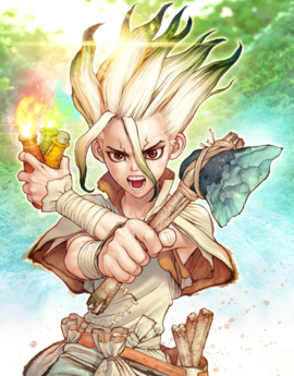 [MANGA/ANIME] Dr.Stone Senku_10