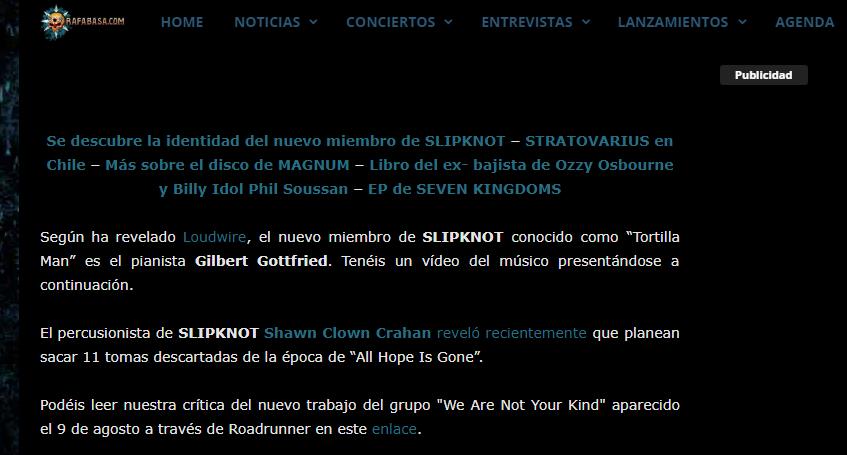 ¿Que opinais sobre SLIPKNOT? - Página 2 Sin_tz12