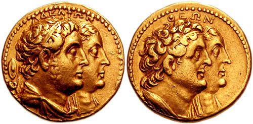 نقود الملك  بطليموس الأول A-gold12