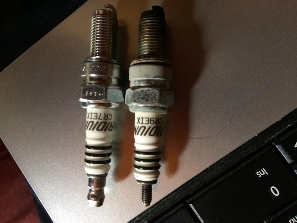 Vela de Iridium para Bandit 1250 2011 Cr7eix ou CR9EIX? Whatsa15