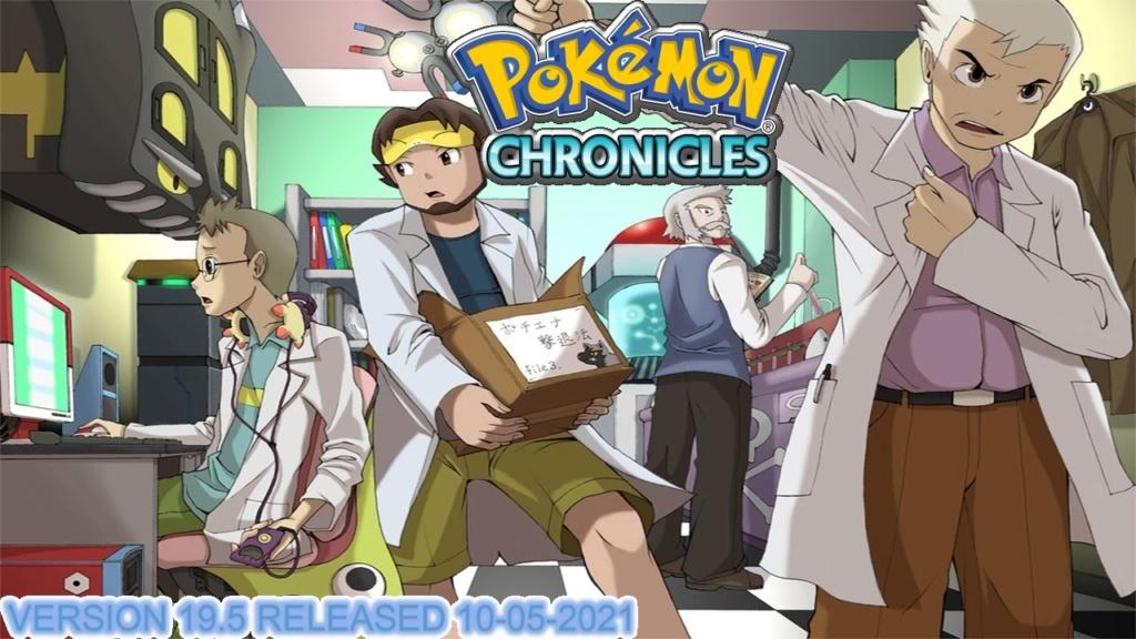 Official Pokémon Chronicles Gameplay  Pokemo12