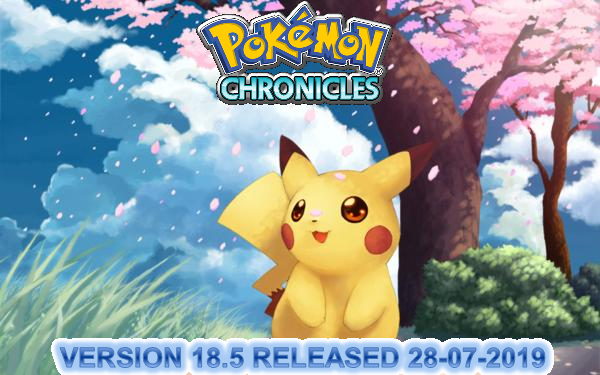Pokémon Chronicles Demo - Version 16.7 Pokemo52