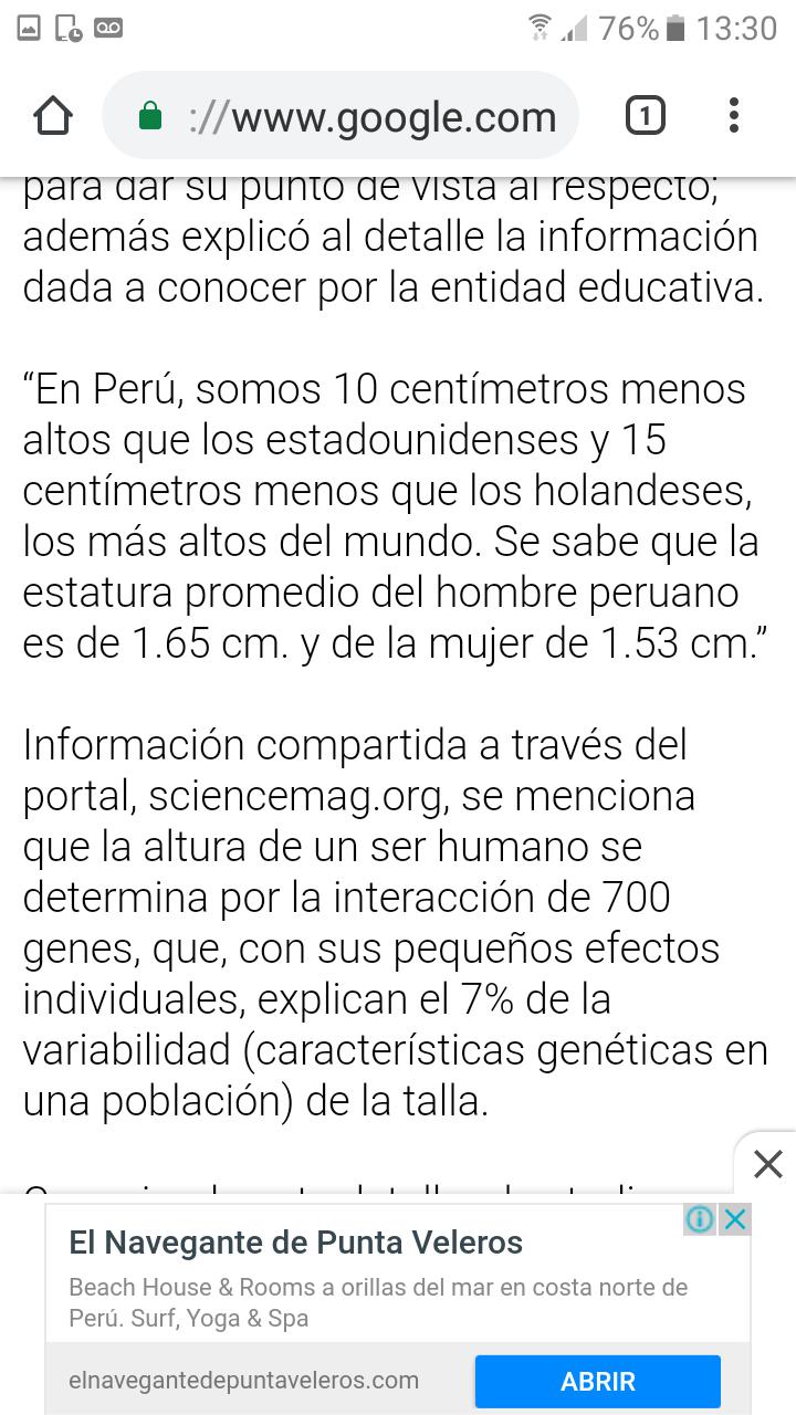 ¿Cuánto mide Martín Vizcarra?  - Altura Screen20