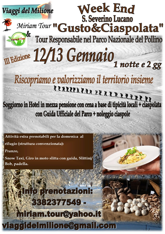 "Tour Responsabile ""Gusto&Ciaspolata"" Parco Nazionale de Pollino Ciaspo10"