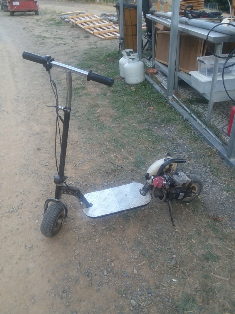 Death Scooter (5hp scooter) 20190915