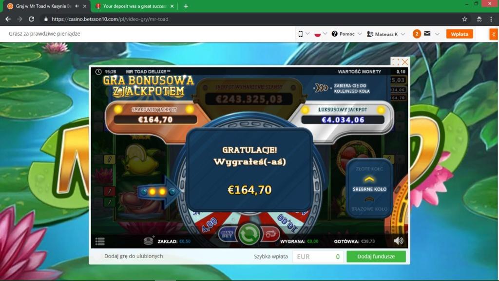 Screenshoty naszych wygranych (minimum 200zł - 50 euro) - kasyno - Page 22 Jackpo10
